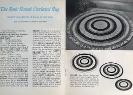 Big Round Rugs Crochet Or Braided Rug Patterns How To Make A Rag Rug