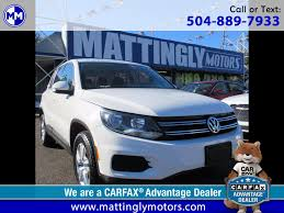 used volkswagen tiguan for sale new orleans la cargurus