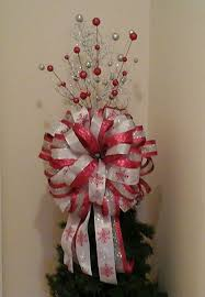13 best luxury tree topper bows images on