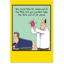4473 humorous birthday card u0027dr jones get well get well u0027 with