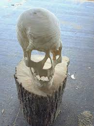 cool wood carvings skull wood carving this is so bad skull obsession