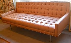 chesterfield pull out sofa orange leather burnt orange leather orange leather