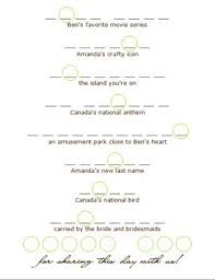 Easy Wedding Program Template Easy Diy Wedding Programs Tutorial