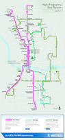 Metro Bus Map by Capital Metro U0027s High Frequency Bus Network Launches June 7