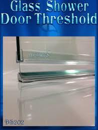 Leaking Shower Door Ds202 Brush Nickel Seamless Glass Shower Door Threshold Prevent