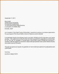 scholarship thank you note sample scholarship thank you letter
