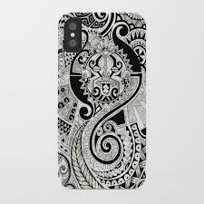 maori tribal design iphone by noahsart society6