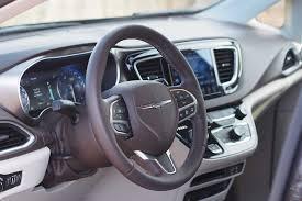 chrysler car interior 2017 chrysler pacifica touring l plus review autoguide com news