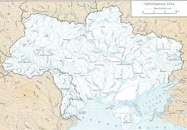 Map Ukraine Detailed Rivers Map Of Ukraine In Ukrainian Vidiani Com Maps