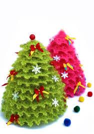 crochet christmas tree christmas present gift crochet toy