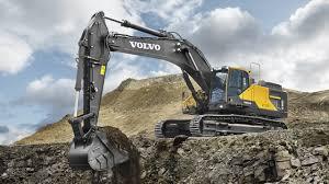 volvo ec480e crawler excavator construction pinterest volvo