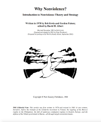 Introduction To Russia by Why Nonviolence Introduction To Nonviolence Theory And Strategy