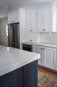 white kitchen cabinets with blue island white shaker cabinets the ultimate design guide