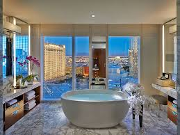 Hotels With Large Bathtubs Luxury Vegas Hotel Bathrooms To Get Ready For A Night Out On The Strip