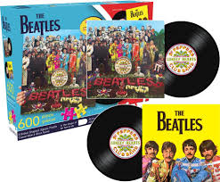 beatles sgt pepper and yellow submarine puzzle
