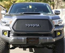 toyota logo for sale custom mesh grills for toyota vehicles by customcargrills com