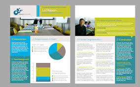 publisher brochure templates free inspirational 2 page brochure