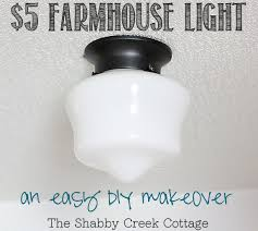 Cheap Light Fixtures Diy Farmhouse Light
