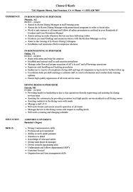 dining room attendant job description dining room attendant resume exles pictures hd aliciafinnnoack