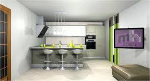 cuisines ouvertes sur salon deco salon et cuisine ouverte une cuisine ouverte dans un appart