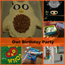 Owl Theme by Owl Theme Birthday Party