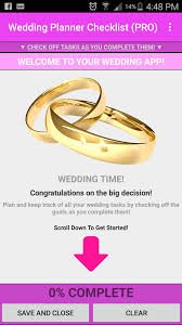 complete wedding checklist wedding planner checklist for android free and software