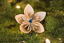 diy vintage dictionary flower ornaments beesdiy