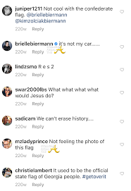 What The Rebel Flag Means Wig Zolciak U0027s Daughter Once Posted Confederate Flag On Instagram