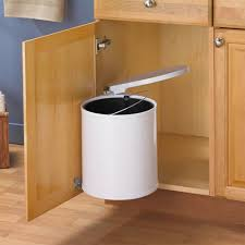 kitchen cabinet garbage can decor u0026 accessories various cool design touchless garbage can for