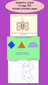 what is symmetry lesson and printables for gr 3 4 pdf