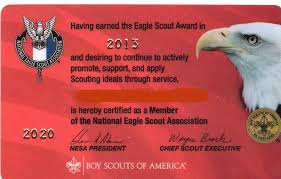 eagle scout congratulations card replacement credentials national eagle scout association