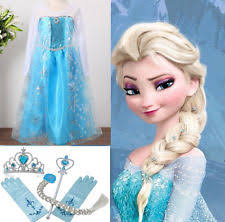 Elsa Halloween Costumes Kids Girls U0027 Costumes Ebay