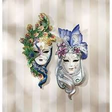 wall masks s peacock butterfly masks design toscano italian masks mask