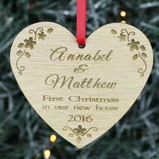 ornaments new home ornament personalized new