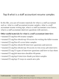 Staff Auditor Resume Sample Top8whatisastaffaccountantresumesamples 150528095422 Lva1 App6891 Thumbnail 4 Jpg Cb U003d1432806908