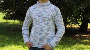 how to knit men u0027s sweater video tutorial with detailed