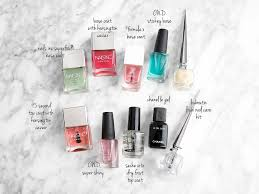 nails inc archives the beauty look book