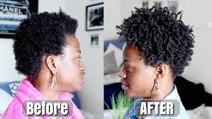 how to taper 4c hair a simple finger coil style tutorial for short 4c natural hair