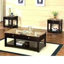 espresso square coffee table coffee table espresso square with glass top threshold finish cvid