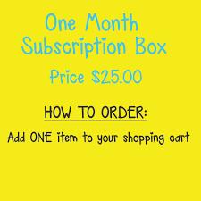 unique party chic and unique tween girl subscription box subscription boxes