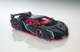 lego lamborghini car raging bull the lego car