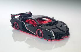 lamborghini veneno lego raging bull the lego car