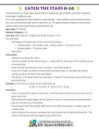 math fact games for kids