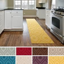 kitchen flooring marble tile memory foam floor mats field circular