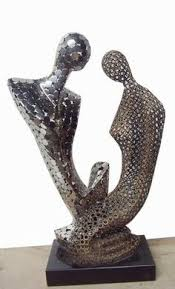 Decorative Sculptures For The Home Affair Table Top Decor High Quality Made Abstract