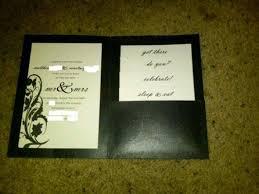 diy pocket invitations my semi diy pocket invites weddingbee