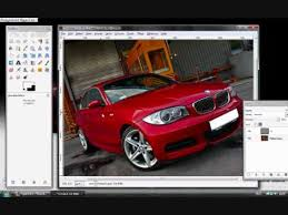 change car colour in gimp youtube
