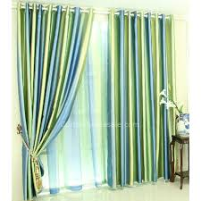 energy saving curtains and drapes for blackout in green and blue