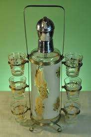 vintage cocktail set 58 best libbey barware images on pinterest barware tumblers and
