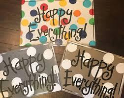 happy everything sign happy everything etsy